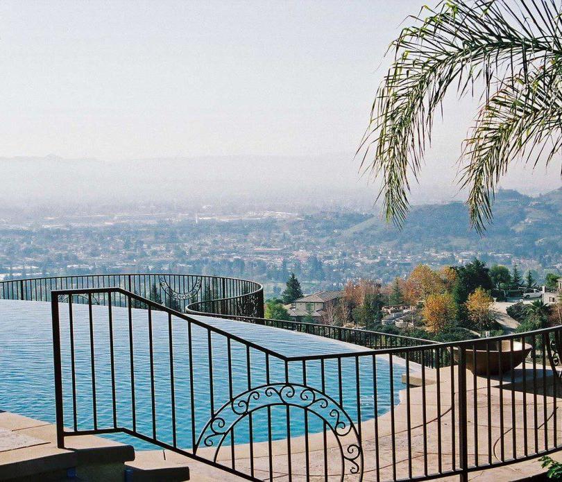 Pool railing