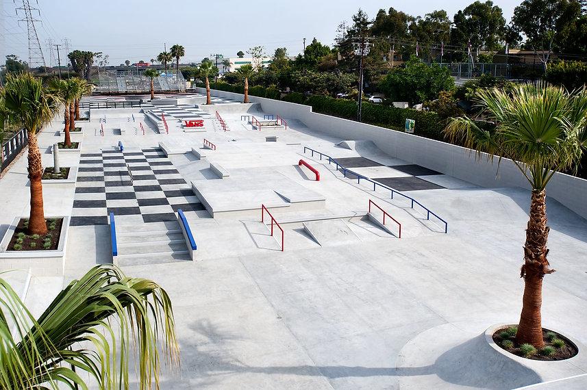 Vans skatepark hb