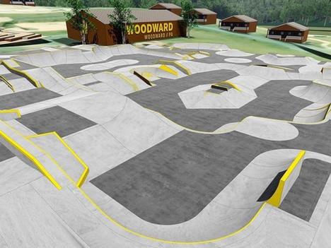 Skatepark Construction: 30,000 SF Town Centre Park at Camp Woodward