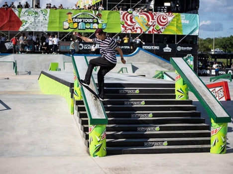 Lauridsen Skatepark Approved as Olympic-level Competition Venue Hosts 2021 Dew Tour!