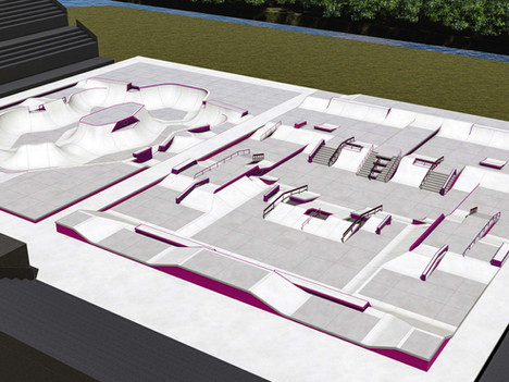 Street and Park Design for Skateboarding Debut Tokyo Olympics 2021