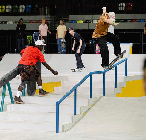 Skateboarding Olympic Qualifier Street and Park Event Schedule
