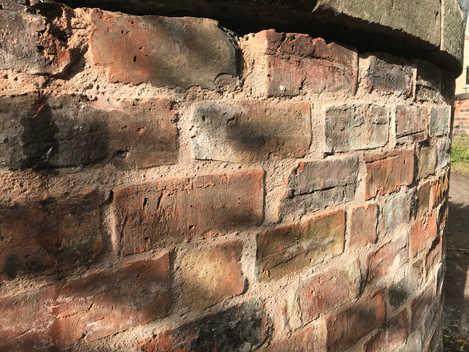 Stone - Brick - Lime mortar
