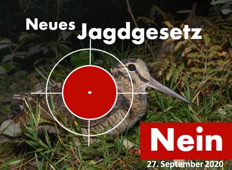 Nein zum neuen Jagdgesetz!