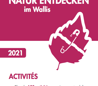 Broschüre: Natur entdecken im Wallis 2021
