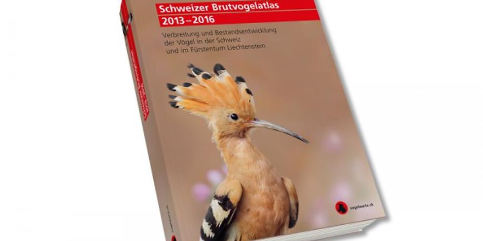 """Öffentlicher Vortrag """"Aus- und Rückblick auf das Projekt  Brutvogelatlas 2013-2016"""""""