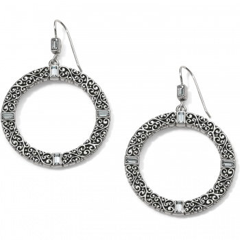 Brighton Baroness Round French Wire Earrings