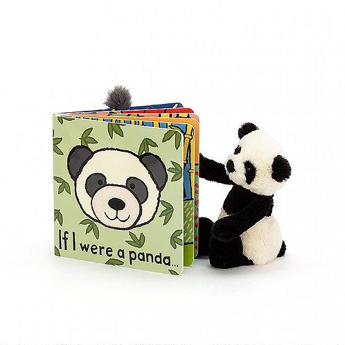 Jellycat Board Book - If I Were A Panda