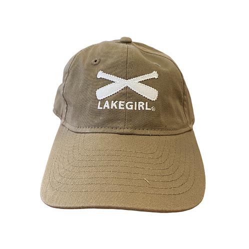 Lakegirl Baseball Cap in Mocha