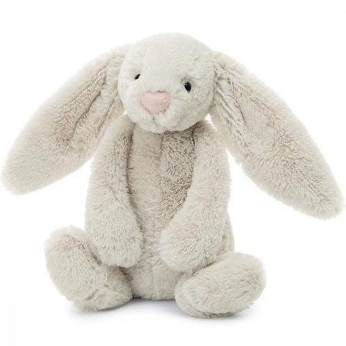 "Jellycat Bashful Oatmeal Bunny - 12"""