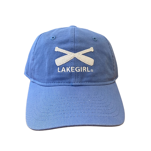 Lakegirl Baseball Cap in Periwinkle