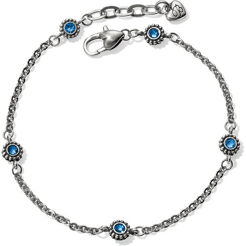 Brighton Twinkle Anklet in Sapphire