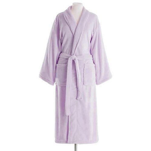 Sheepy Fleece Robe in Pale Lilac
