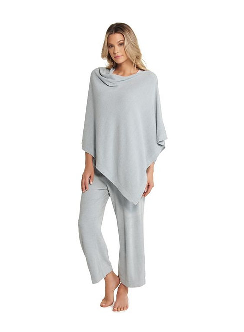 Barefoot Dreams Poncho in Blue Water