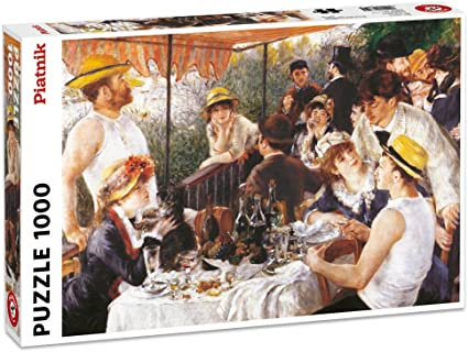 1000 Piece Puzzle - Boating Party by Renoir