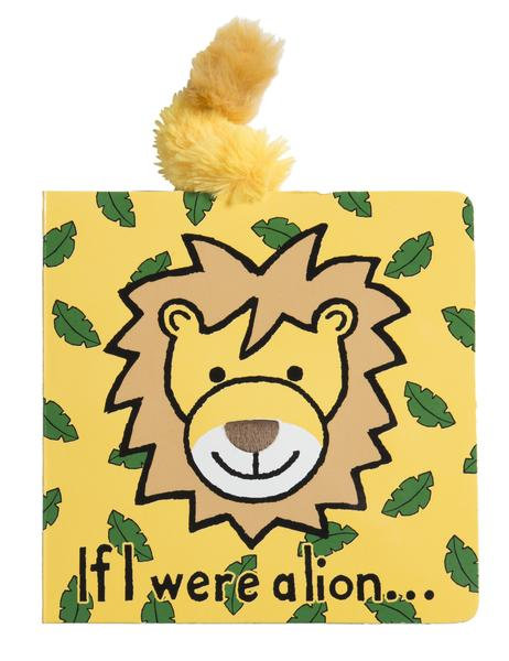 Jellycat Board Book - If I Were A Lion