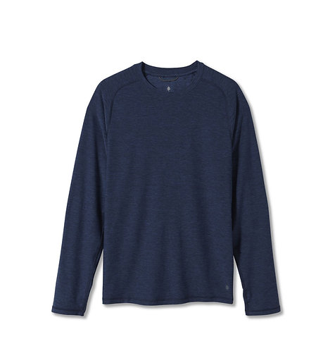 Royal Robbins - M's Tech Travel Long Sleeve in Navy