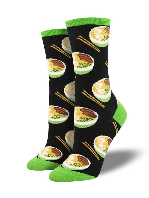 Womens Socks - Use Your Noodle
