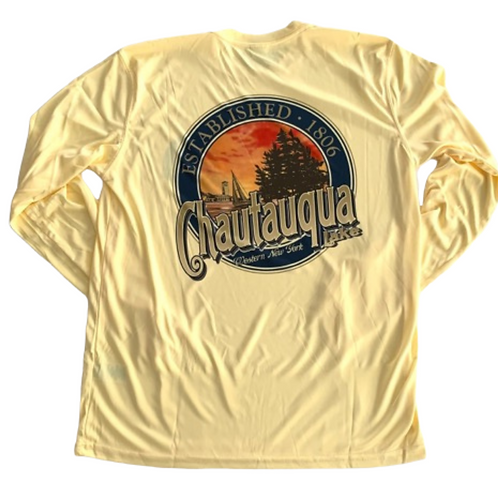 Chautauqua Lake Sun Protection Shirt in Butter
