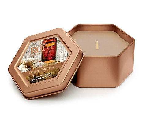 Root Candle in Ginger Patchouli - Travel Tin