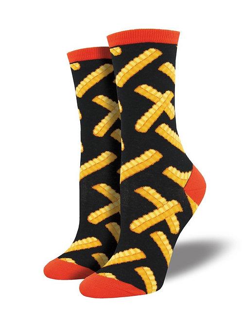 Womens Socks - French Fries