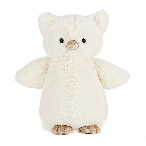 "Jellycat Bashful Owl - 12"""