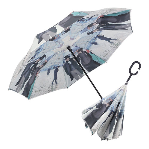 Inverted Umbrella by Rain Capers - Caillebotte's Paris Street