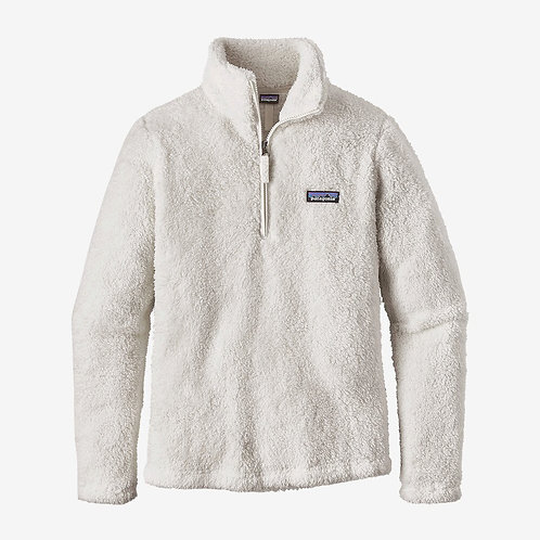 Patagonia - W's Los Gatos 1/4-Zip Fleece in Birch White