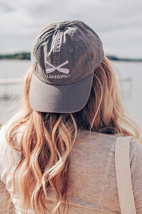 Lakegirl Baseball Cap in Grey