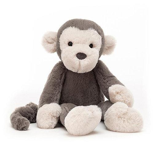 "Jellycat Snugglet Monkey - 14"""