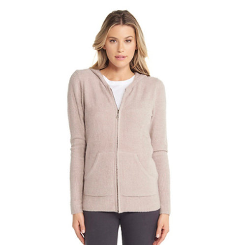 Barefoot Dreams  Cozychic Lite Hoodie in Faded Rose