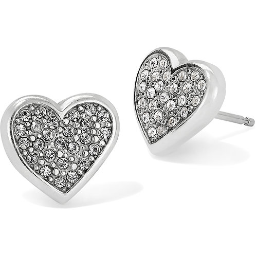 Brighton Eden Hearts Mini Post Earrings