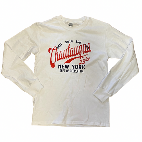 Chautauqua Lake Long Sleeve T-Shirt: Dept. of Recreation