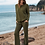 Thumbnail: Barefoot Dreams Lounge Pant in Olive
