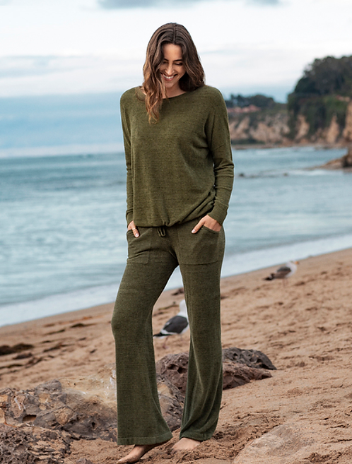 Barefoot Dreams Lounge Pant in Olive