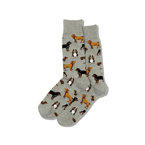 Mens Socks - Multi Dogs