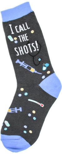 Womens Socks - I Call The Shots