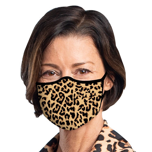 Face Mask by Rain Capers - Leopard