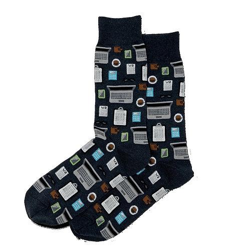Mens Socks - Accountant