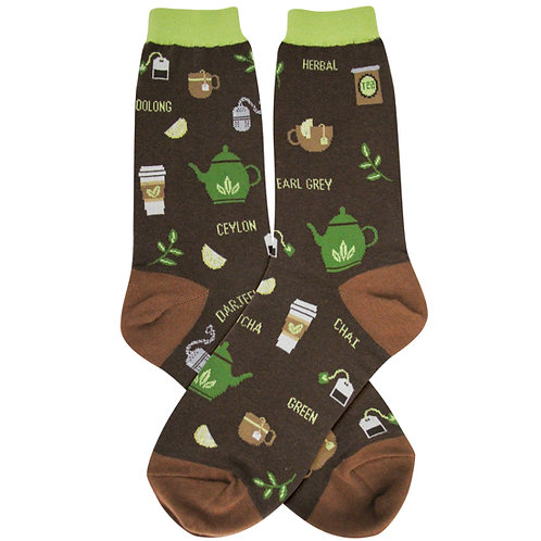 Womens Socks - Tea