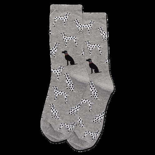 Womens Socks - Dalmations