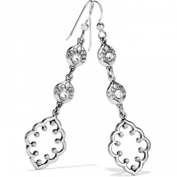 Brighton Journey To India Lotus Drop French Wire Earrings