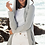 Thumbnail: Barefoot Dreams Hooded Cardi in Blue Water