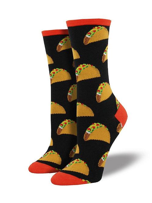 Womens Socks - Tacos