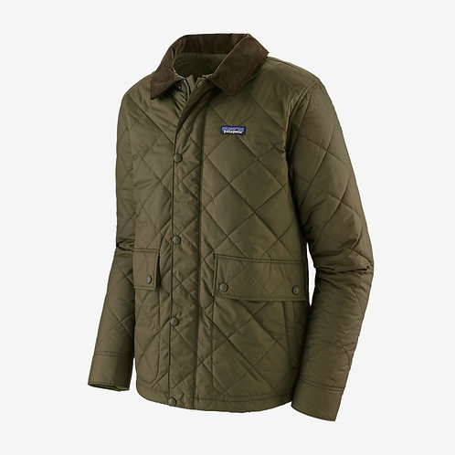 Patagonia - M's Diamond Quilted Jacket in Basin Green