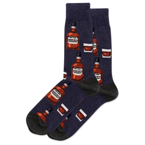 Mens Socks - Bourbon