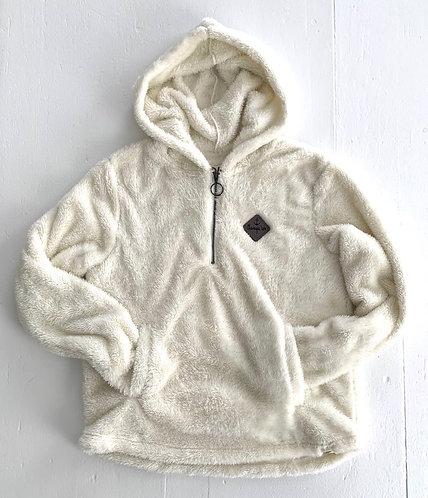 Chautauqua Lake Women's Soft Hoodie Ivory