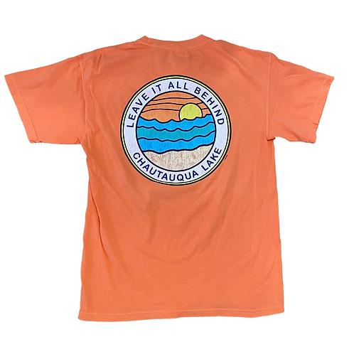 Chautauqua Lake Short Sleeve T-Shirt: Leave It All Behind