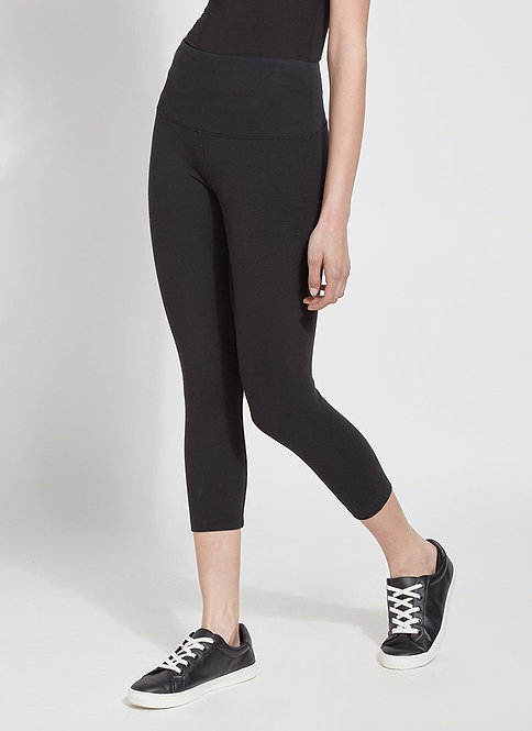 Lysse Classic Crop Leggings in Black