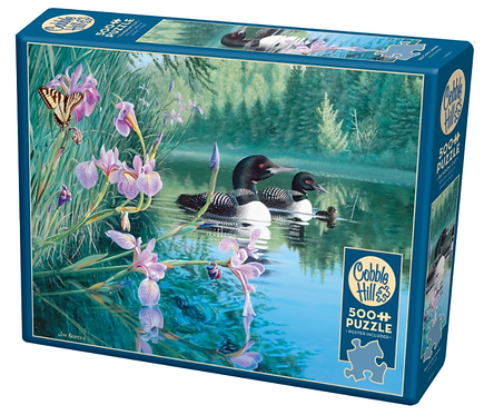 500 Piece Puzzle - Iris Cove Loons